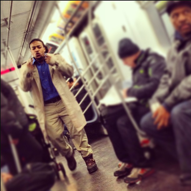 Performing on the NYC Subway on the 4 train