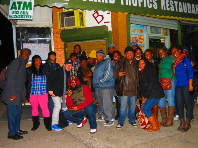 """Our monthly S.W.A.G open mic at """"Island Tropics restaurant"""""""